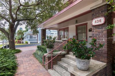 St Petersburg Single Family Home For Sale: 436 2nd Street N