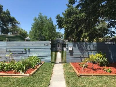 St Petersburg Single Family Home For Sale: 4821 4th Avenue S