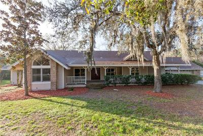 Hernando County, Hillsborough County, Pasco County, Pinellas County Single Family Home For Sale: 1055 Riverside Ridge Road