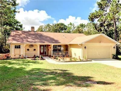 Weeki Wachee Single Family Home For Sale: 11212 Flock Avenue