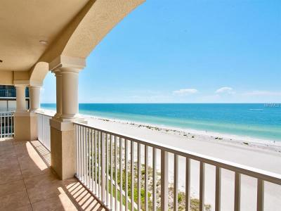 Clearwater, Cleasrwater, Clearwater` Condo For Sale: 1370 Gulf Boulevard #801