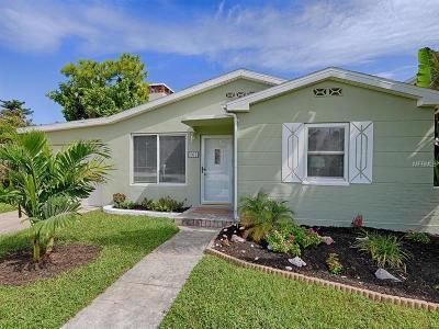 Belleair Beach Single Family Home For Sale: 105 3rd Street