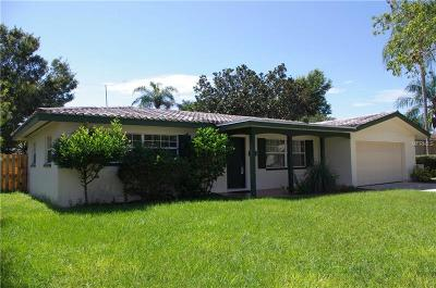 Clearwater Single Family Home For Sale: 2275 Claiborne Drive