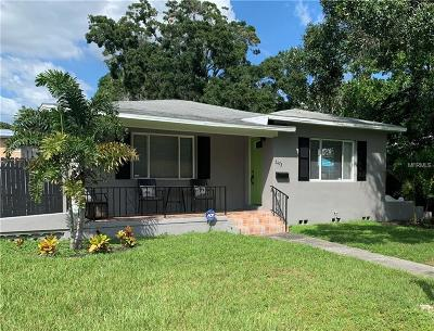 St Petersburg Single Family Home For Sale: 2473 9th Avenue N