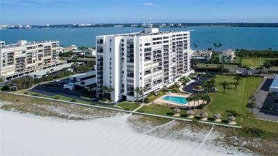 Clearwater Beach Condo For Sale: 1460 Gulf Boulevard #306