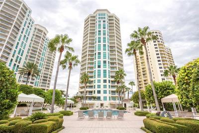 Clearwater Beach Condo For Sale: 1180 Gulf Boulevard #904