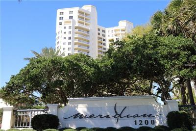 Pinellas County Condo For Sale: 1200 Gulf Boulevard #1904