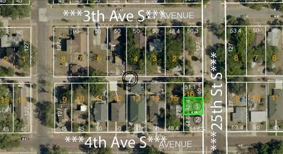 St Petersburg Residential Lots & Land For Sale: 329 25th Street S