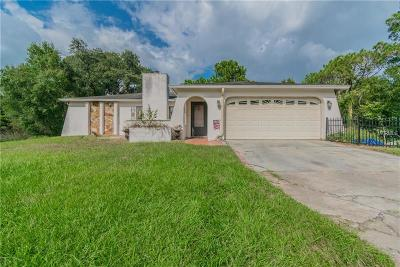 New Port Richey Single Family Home For Sale: 11730 Seminole Drive