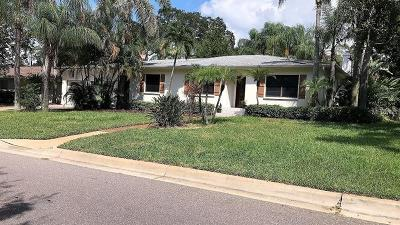 Belleair, Belleair Bluffs Single Family Home For Sale: 1743 Eagles Nest Drive