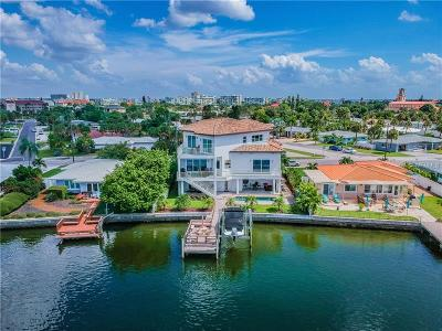Saint Pete Beach, St Pete Beach, St Petersburg Beach, Treasure Island Single Family Home For Sale: 8720 Gulf Boulevard