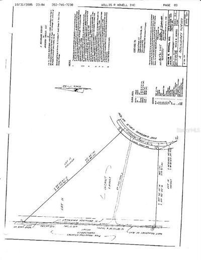 Hernando Residential Lots & Land For Sale: 886 E Overdrive