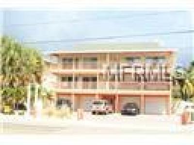 Indian Rocks Beach Condo For Sale: 1809 Gulf Boulevard #B1