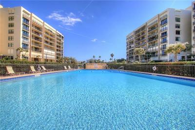 Clearwater Beach Condo For Sale: 1430 Gulf Boulevard #608