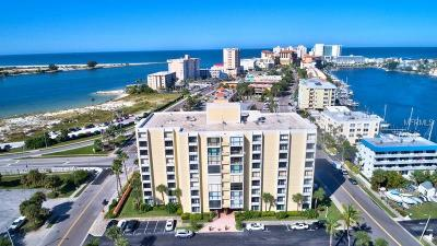 Clearwater Beach Condo For Sale: 800 S Gulfview Boulevard #302