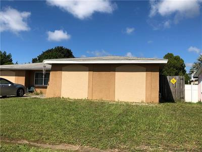 New Port Richey Single Family Home For Sale: 6303 Diamond Drive