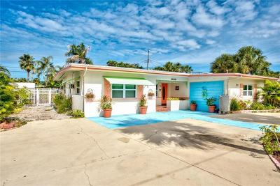 St Pete Beach Single Family Home For Sale: 437 87th Avenue