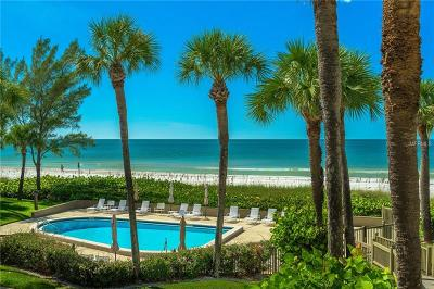 Belleair Beach Condo For Sale: 2100 Gulf Boulevard #18A