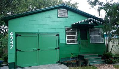 Gulfport FL Single Family Home For Sale: $149,000