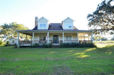 Dade City Single Family Home For Sale: 29140 Johnston Road