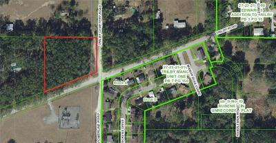 Dade City Residential Lots & Land For Sale: 36971 Trilby Road