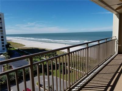 Clearwater Condo For Sale: 1430 Gulf Boulevard #609