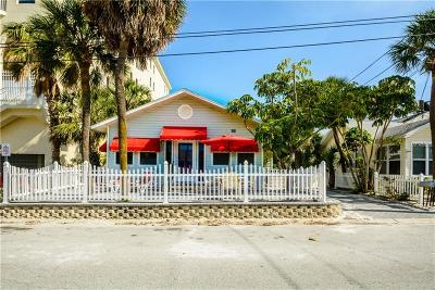 Clearwater, Clearwater Beach Single Family Home For Sale: 18 Cambria Street
