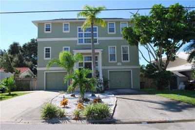 Indian Rocks Beach Single Family Home For Sale: 453 N Harbor Drive
