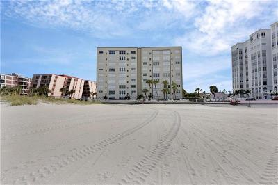 St Pete Beach Condo For Sale: 5000 Gulf Boulevard #403