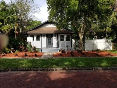 St Petersburg Single Family Home For Sale: 313 23rd Avenue N
