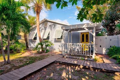 Treasure Island Single Family Home For Sale: 9815 1st Street E
