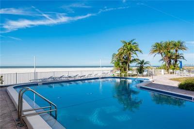 St Petersburg, St Pete Beach, St Petersburg Beach Condo For Sale: 4950 Gulf Boulevard #203