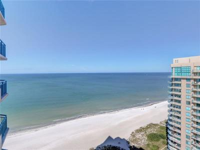 Clearwater Beach Condo For Sale: 1540 Gulf Boulevard #1905