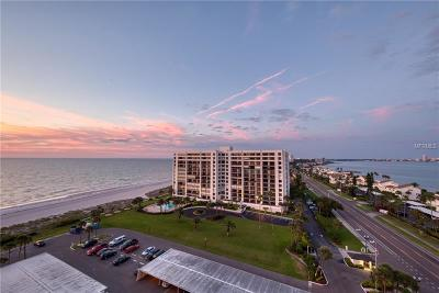 Clearwater Beach Condo For Sale: 1480 Gulf Boulevard #1109