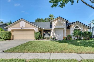 Tarpon Springs Single Family Home For Sale: 3221 Oakwood Place