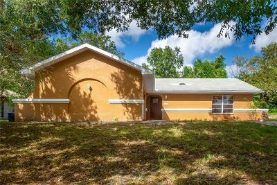 Weeki Wachee Single Family Home For Sale: 8453 Dirlenton Way