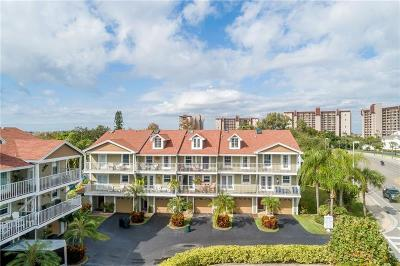 Treasure Island, St Pete Beach Townhouse For Sale: 9176 Blind Pass Road