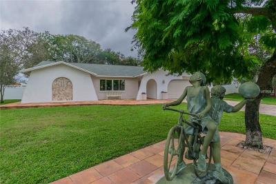 Tarpon Springs Single Family Home For Sale: 1601 Gulf Road