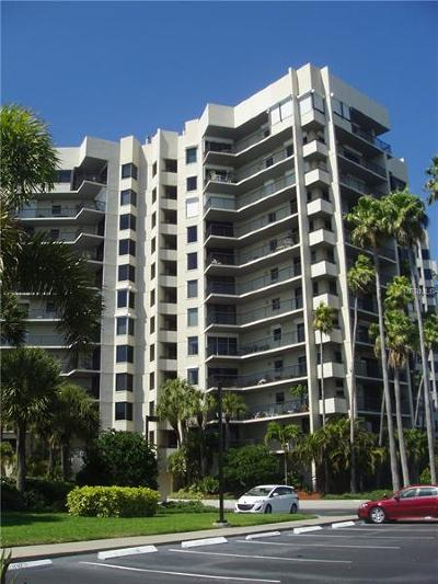 Dans Island On Sand Key Condo Condo For Sale: 1600 Gulf Boulevard #313