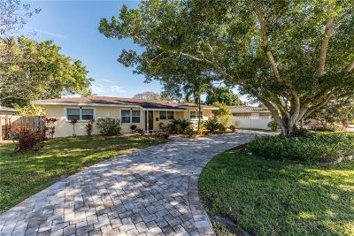 St Petersburg Single Family Home For Sale: 9543 Treasure Lane NE