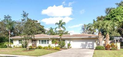 Single Family Home For Sale: 215 Ponce De Leon Boulevard