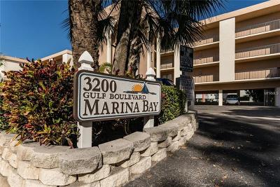 St Pete Beach Condo For Sale: 3200 Gulf Boulevard #206