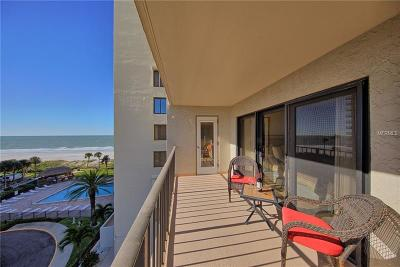 Clearwater Beach Condo For Sale: 1480 Gulf Boulevard #512