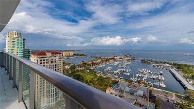 Hillsborough County, Pasco County, Pinellas County Condo For Sale: 100 1st Avenue N #2501