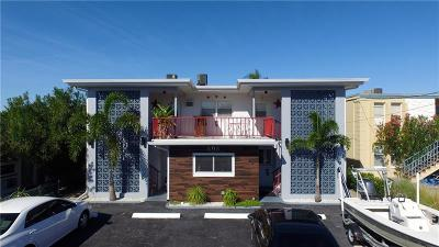 Madeira Beach Multi Family Home For Sale: 505 129th Avenue E
