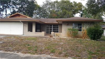 Tarpon Springs Single Family Home For Sale: 601 Sugar Mill Road