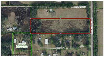 Dade City Residential Lots & Land For Sale: Bellamy Brothers Boulevard
