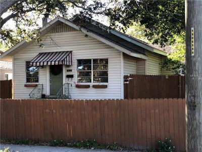 Pinellas County Single Family Home For Sale: 1822 14th Street N