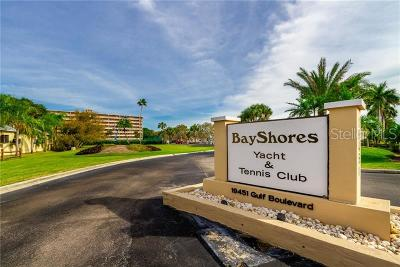 Clearwater Beach, Indian Rocks Beach, Indian Shores, Redington Beach, Redington Shores, Madeira Beach, Treasure Island, Tierra Verde, Belleair Beach, St. Pete Beach, Treasure Island  Condo For Sale: 19451 Gulf Boulevard #508