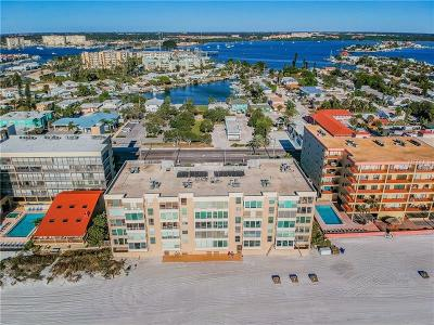 Clearwater Beach, Indian Rocks Beach, Indian Shores, Redington Beach, Redington Shores, Madeira Beach, Treasure Island, Tierra Verde, Belleair Beach, St. Pete Beach, Treasure Island  Condo For Sale: 14800 Gulf Boulevard #303